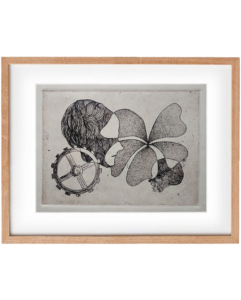 Petal – Etching Print, Wall Art ₨1,000.00