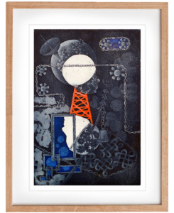 Connected – Etching, Original Print, Wall Art