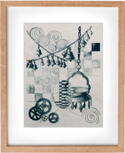 Untitled – Original Lithograph Print, Wall Art