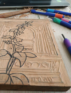 Woodcut-Printmaking